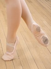Canvas Split Sole Ballet