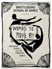 Spring Show 2018 poster - Words To Live By
